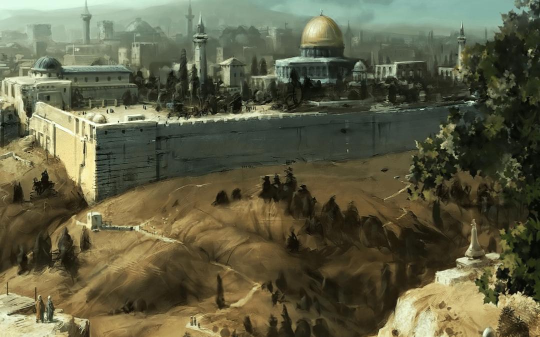 Иерусалим картина маслом