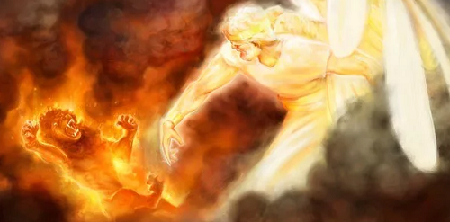 Победа Христа над сатаной