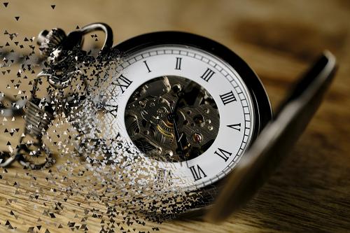 карманные часы. Время