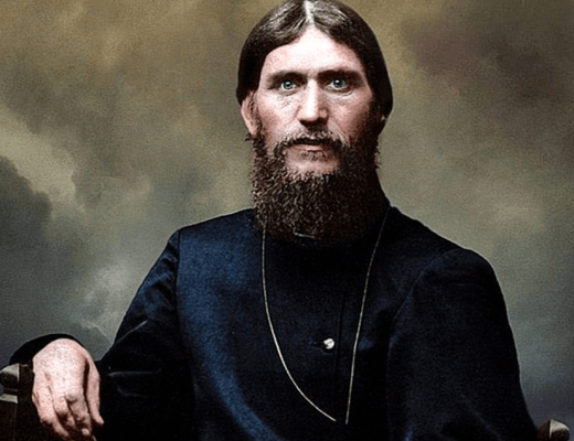 цветное фото Григорий Ефимович Распутин