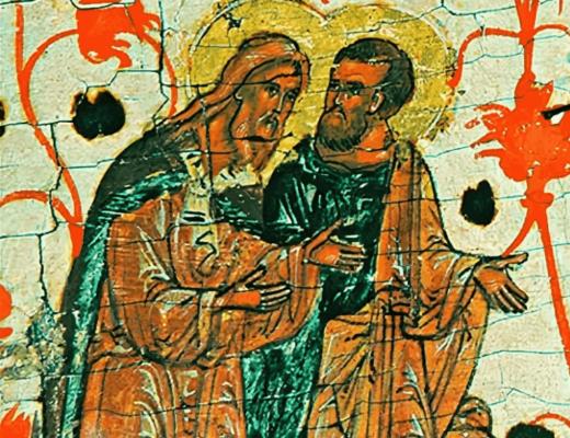 Илия и праотец Енох. Картина