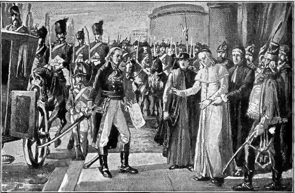 Пленение папы генералом Бертье
