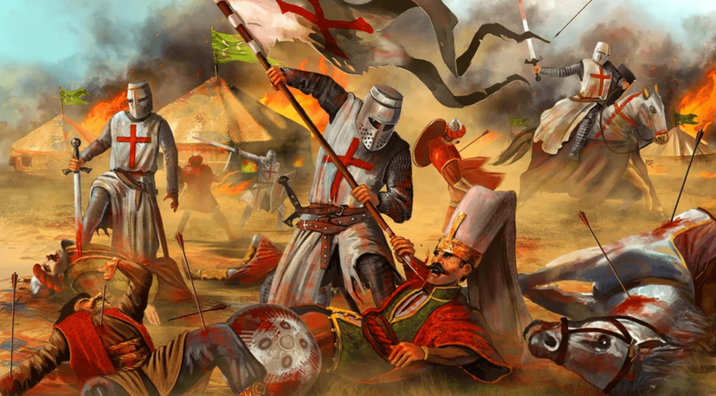 Война крестоносцев с мусульманами