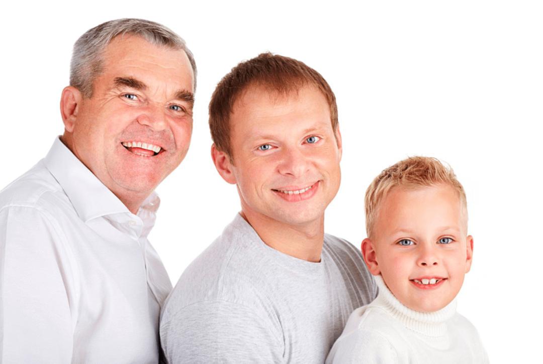 отец сын и внук