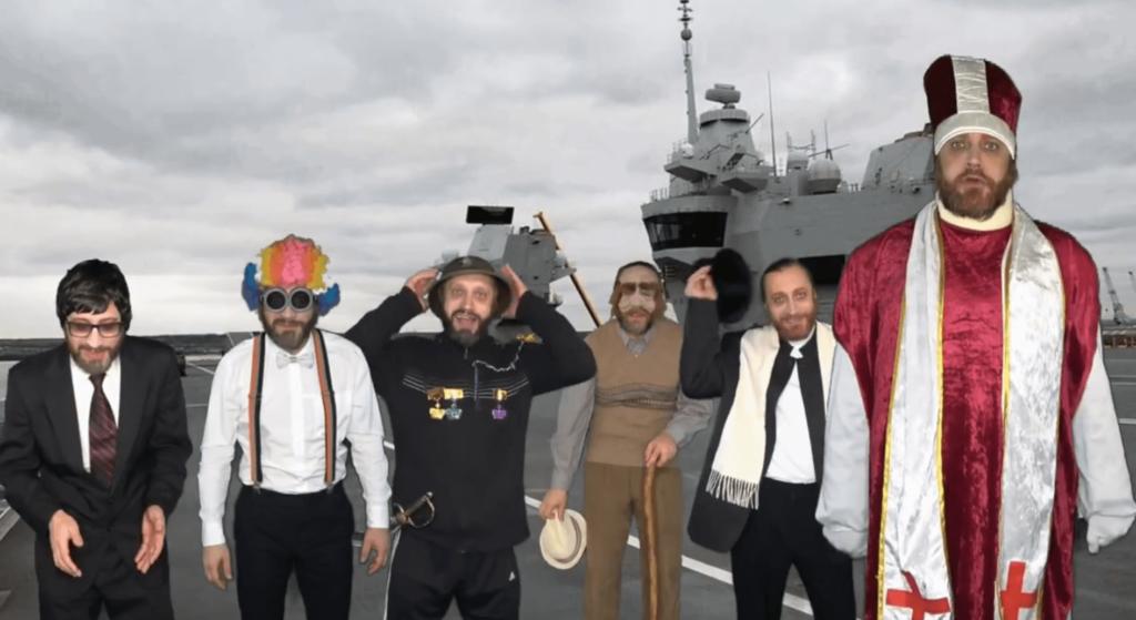 Сказ про Григория. Правительство на корабле