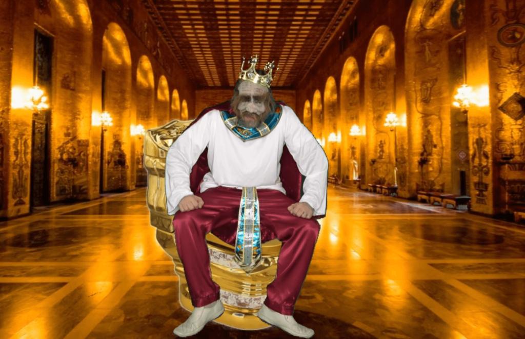 Царь на золотом унитазе. Сказ про Федота стрельца