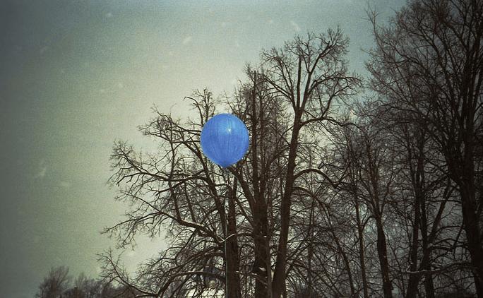 Голубой шарик. Булат Окуджава